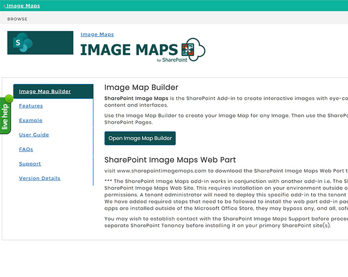 SharePoint Image Maps